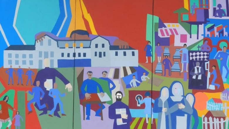 Robert Burke Former Residential School Student Paints To Tell The