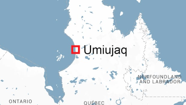 Umiujaq is on the edge of the Hudson Bay in northern Quebec.