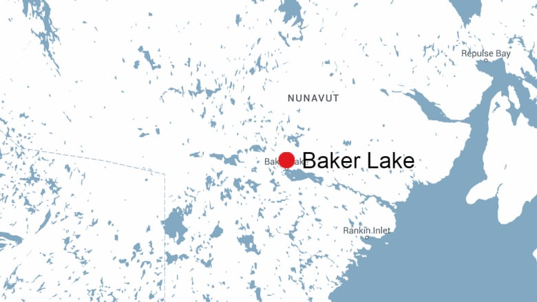 Baker Lake Canada Map Baker Lake man arrested after barricading himself in home with gun