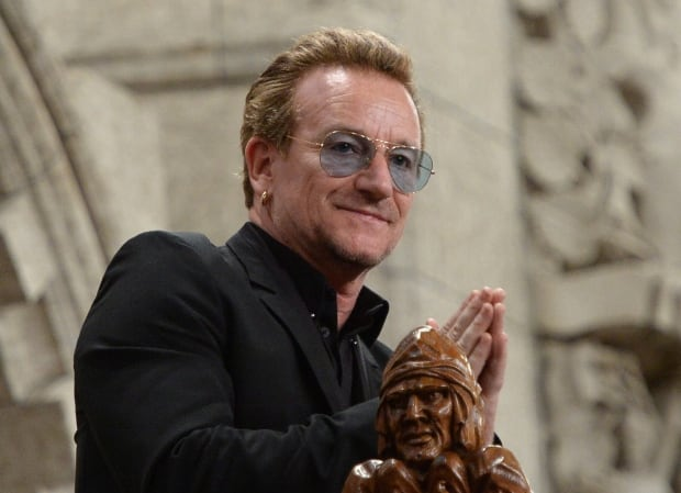 Bono views question period in Ottawa