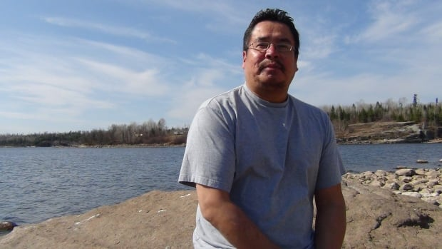 "Grassy Narrows First Nation Deputy Chief Randy Fobister gives ""great compliments"" to the community organizers who have continued to turn away logging trucks since 2002."