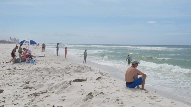 Florida says beaches safe for most swimmers, despite potentially
