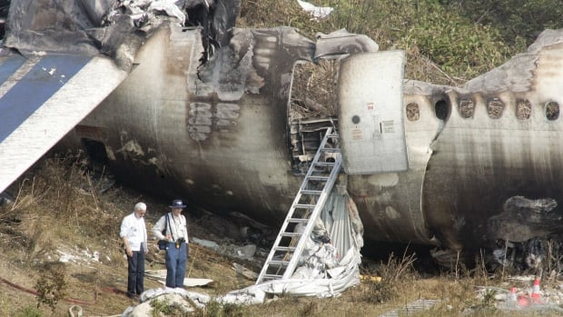 The Transportation Safety Board says it made recommendations to reduce the risk of runway overruns after an Air France jet carrying 309 passengers skidded off a runway and burst into flames at Lester B. Pearson International Airport in August 2005.