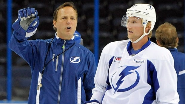 Is there a rift between Lightning head coach Jon Cooper, left, and star forward Steven Stamkos? Hockey Night in Canada personality Don Cherry certainly didn't like the way the coach handled the player during the Stanley Cup playoffs, specifically when it came to ice time. Cherry wonders if Stamkos will take a more serious look at offers before he's eligible to become an unrestricted free agent next July 1.