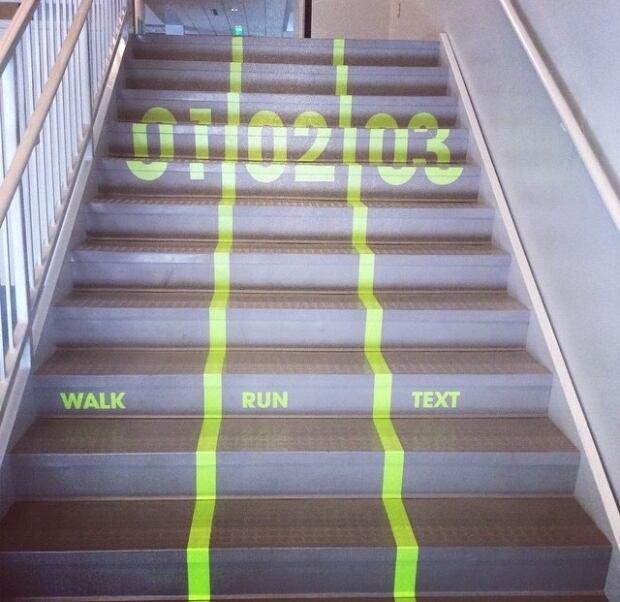 Stairs at UVU