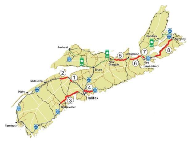Nova Scotia highway toll feasibility