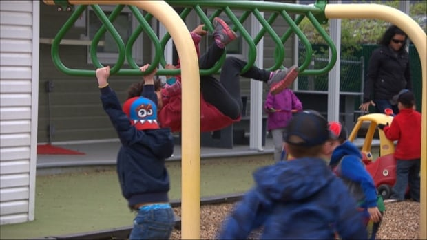 Working parents with children between the ages of one and three would have access to free daycare under the B.C. Greens, according to a party strategy released  Wednesday.