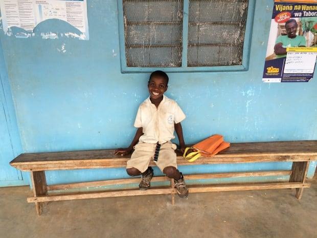 Child in Tabora region, Tanzania