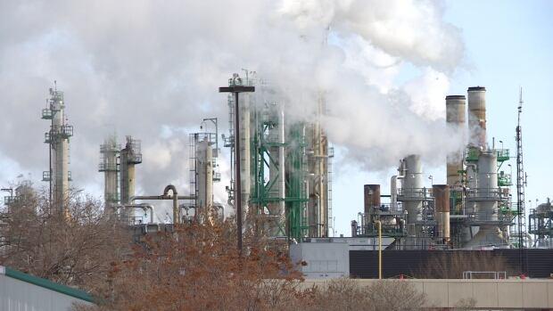 Regina Coop Refinery emissions 1