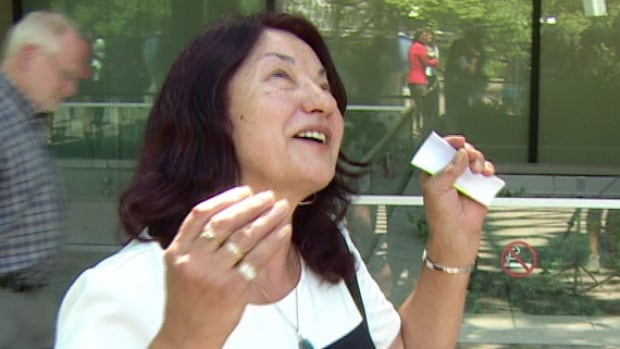 'I'm so happy ... I could jump to the sky,' said Robert Dziekanski's mother, Zofia Cisowski, after the judge sentenced Const. Kwesi Millington to 30 months in prison.