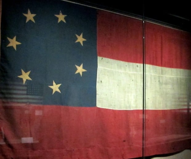 Stars and Bars Confederate flag