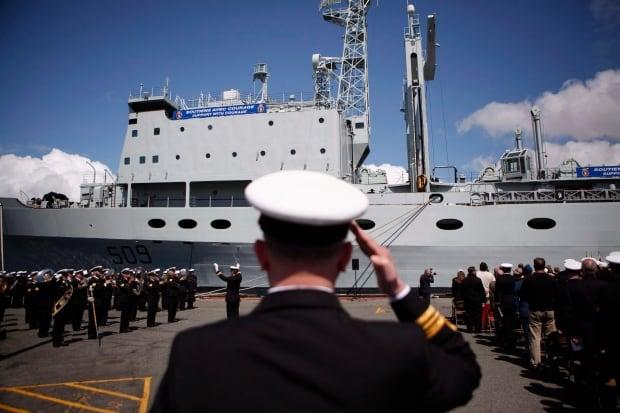 HMCS Protecteur 20150514