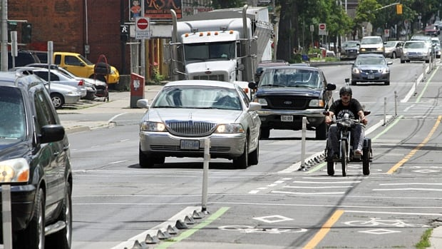 "The city says that of the 26 collisions involving a car and a bike/e-bike reported on Cannon since the bike lanes went in, it's more often the case that cyclists have been at fault and ""disobeying the rules of the road."""