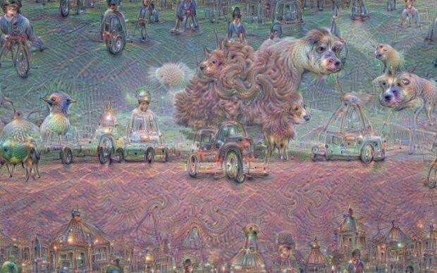 Google neural net dreams 1