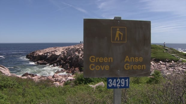 Green Cove sign