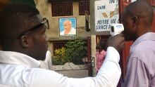 Ebola fever screening in Guinea