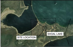 City of Winnipeg map of Shoal Lake bridge
