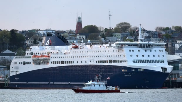 The 528-foot Nova Star was the last ferry to make the Yarmouth to Maine run.