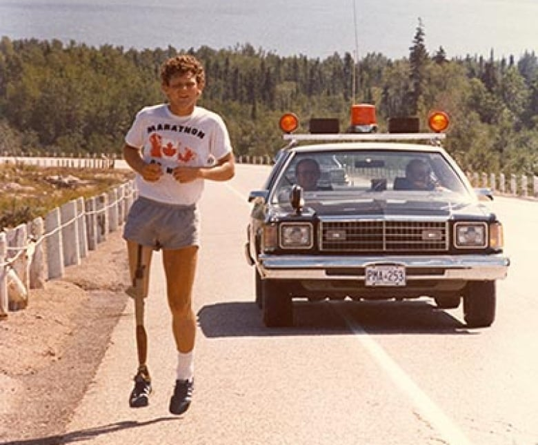 Terry Fox remembered on 35th anniversary of his death | CBC News