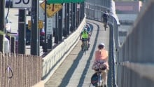 Macdonald Bridge bike lane