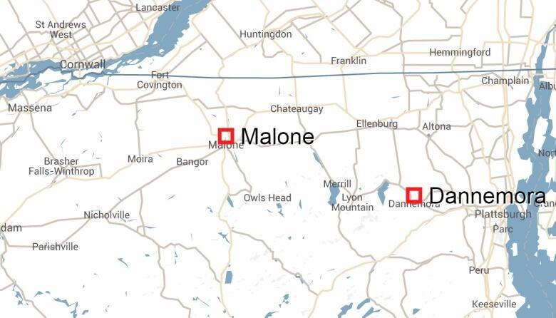 Map Of New York Dannemora.Richard Matt Escaped N Y Prisoner Shot Dead Cbc News