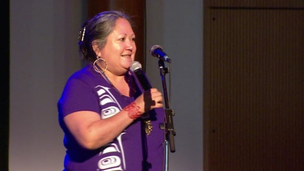 Sharon Shorty is a well-known storyteller and actor in the Yukon.