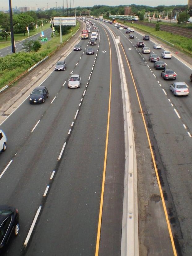Toronto Gardiner Expressway HOV