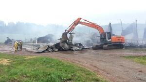 Green Oaks excavator