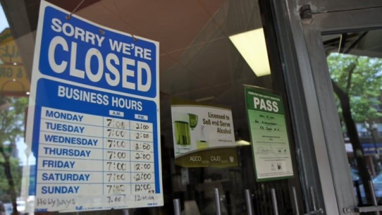 Labour day what s open and closed cbc news