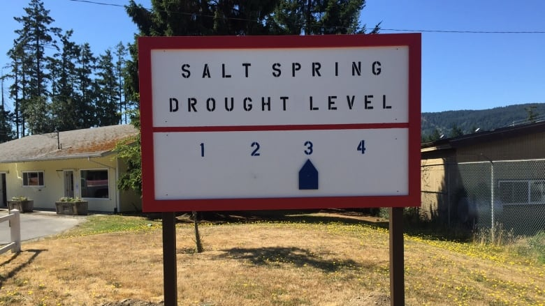 Water shortage on Salt Spring Island sparks call for change