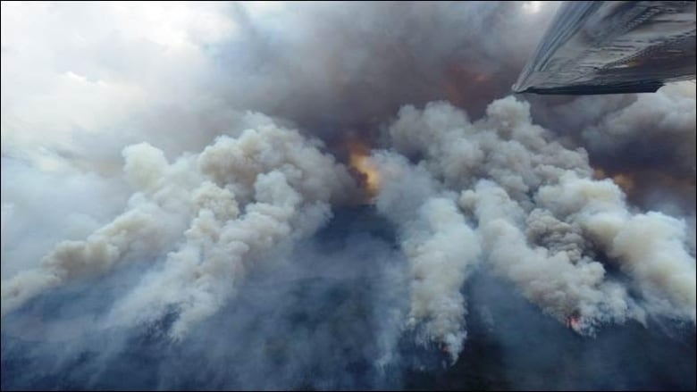 Aerial ignition helps forest firefighters in northwestern Ontario