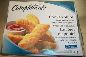 Compliments chicken strips - recalled