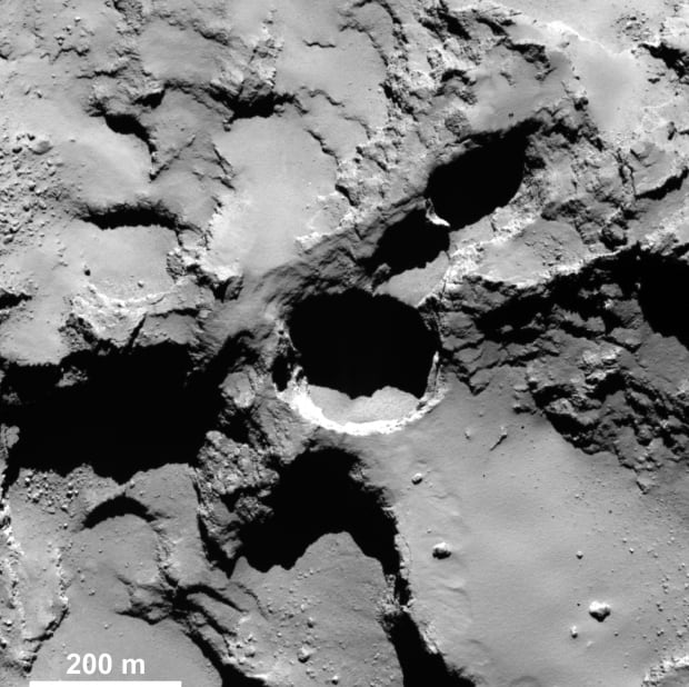 Active pit in the Seth region
