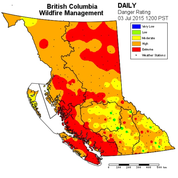 Province-wide fire ban