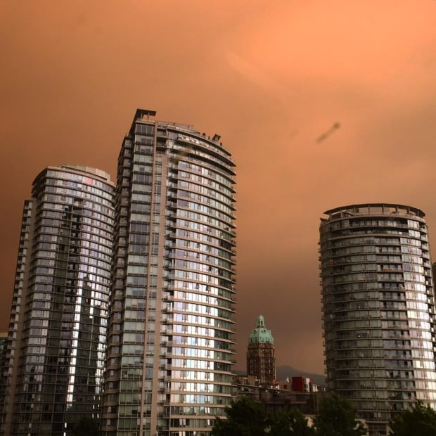 BC Wildfires Vancouver
