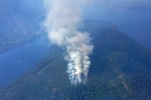 Sproat Lake fire