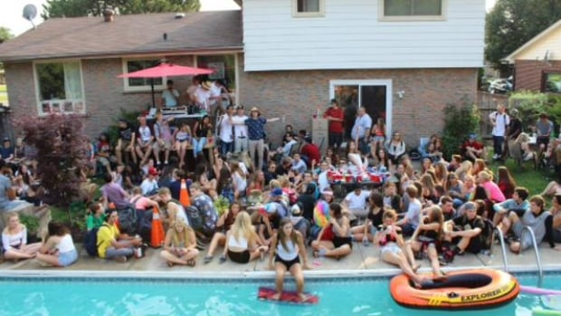 image Massive mansion house party turns into a crazy bedroom orgy