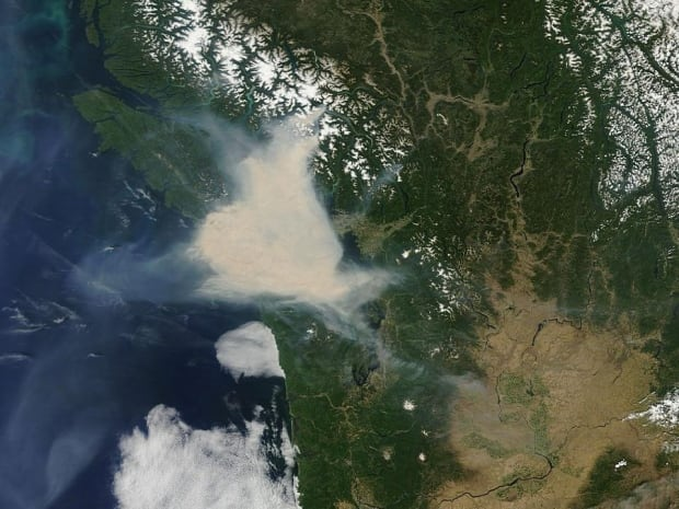 Forest Fires Vancouver Island