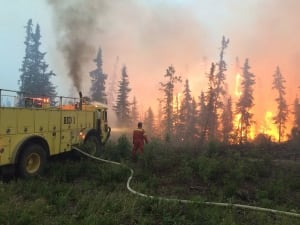 Sask Wildfires 20150705 July 4 2015 La Ronge
