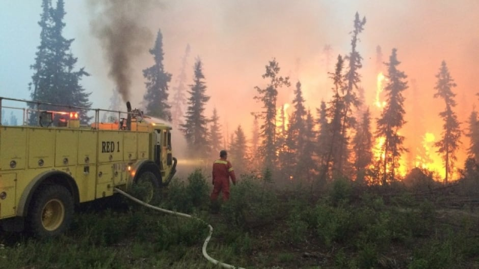 Residents of La Ronge have also been forced out of their homes. This morning fires are within two kilometers of some La Ronge homes.