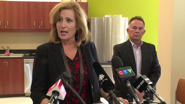 Sandra Pupatello is stepping down as the chief executive officer of the WindsorEssex Economic Development Corporation. She spoke to reporters on Monday afternoon, alongside chairman Martin Komsa, after the news was made public.