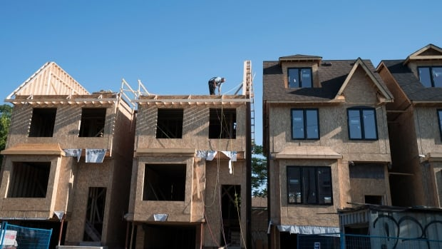 The CMHC says that while Canada's overall housing market is in OK shape, there's growing reasons for concern in Toronto, Regina and Winnipeg.