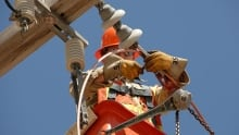 SaskPower repair worker outage electrical utility danger high voltage electrocution