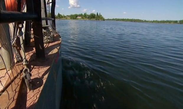 Shoal Lake ferry