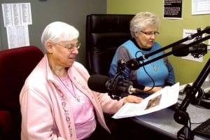 Sister Pauline Girodat and Sister Joan Liss