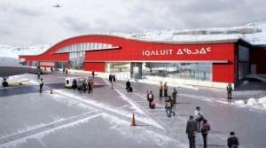 Iqaluit airport terminal - artist's concept