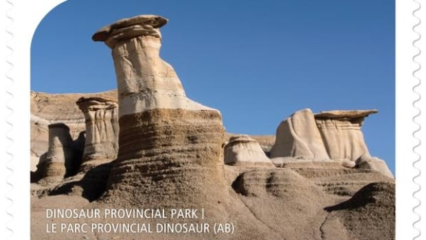 Canada Post Pulls Stamp That Misidentified Hoodoos As Dinosaur Provincial Park Cbc News