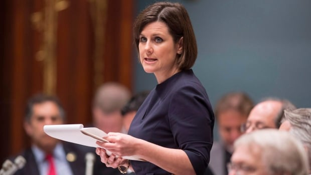 Justice Minister Stéphanie Vallée says the committee should be invested of the full powers of a public inquiry