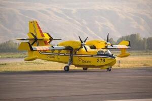 Ontario amphibious skimming aircraft