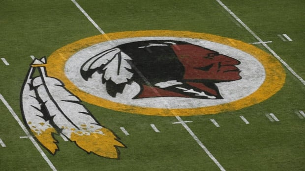 The logo of the Washington Redskins, like that of the Chicago Blackhawks, has been used by both minor league and high school teams in Canada.